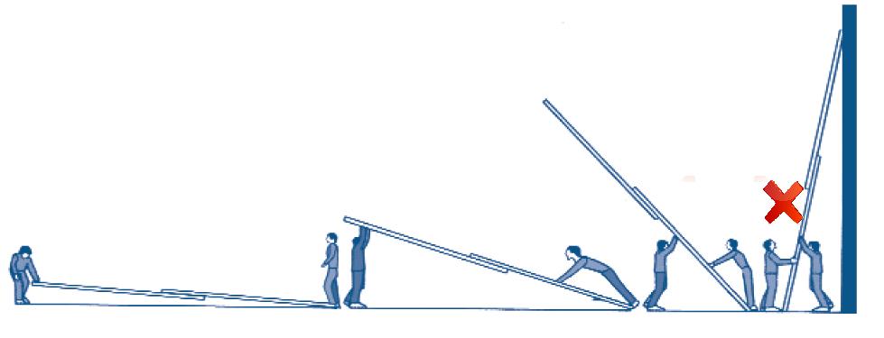 raising a ladder